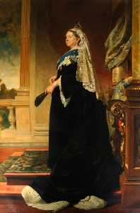 Herman Herkomer - Queen Victoria (1819–1901) (after Heinrich von Angeli)
