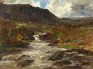 Francis Abel William Taylor Armstrong - A Mountain Stream