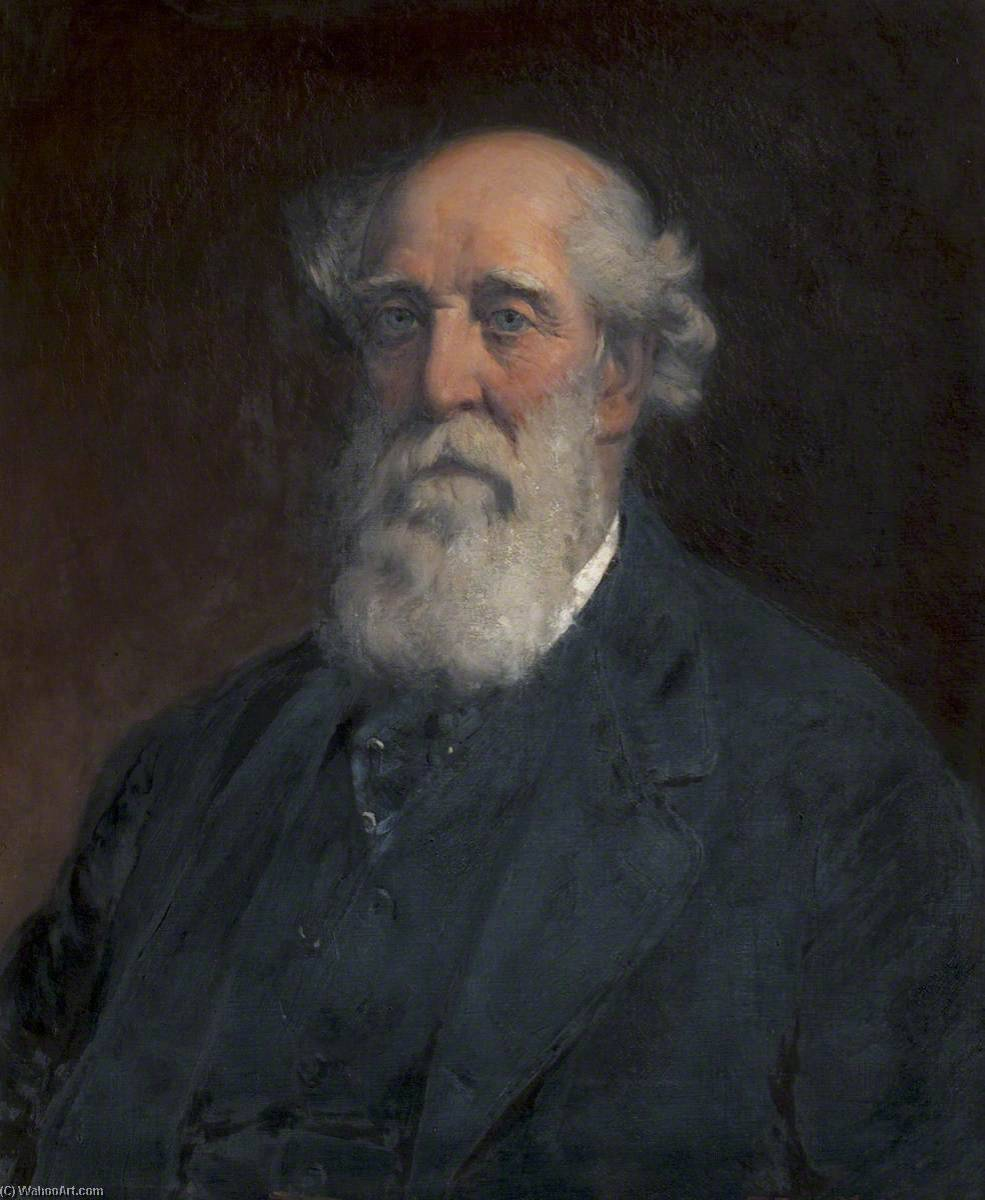 Colonel R. F. Hill, Oil On Canvas by Thomas Eyre Macklin