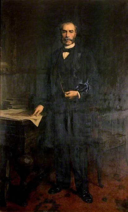 Alexander Laing (1828–1905), Oil On Canvas by Thomas Eyre Macklin