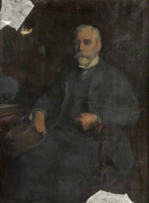Edmund John Jasper Browell, Oil On Canvas by Thomas Eyre Macklin