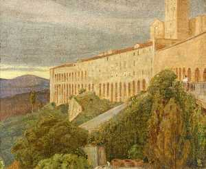 Charles March Gere - Assisi, Italy