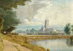 Charles March Gere - Gloucester Cathedral