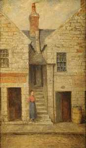 Robert Bryden - Outside Stair at 159 High Street