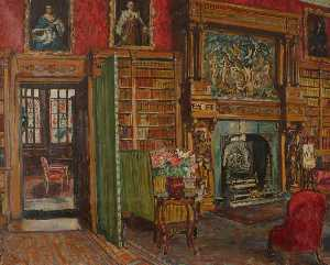 Marie Louise Roosevelt Pierrepont - Interior – The Library