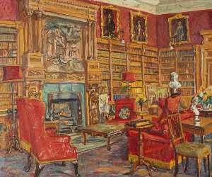 Marie Louise Roosevelt Pierrepont - The Library