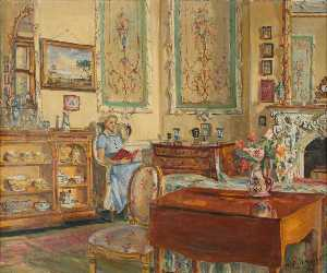 Marie Louise Roosevelt Pierrepont - Nurse in the Tapestry Room