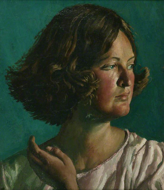Catherine, Oil On Canvas by Colin Unwin Gill