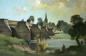 Bertram Nicholls - Wilton Bridge, Ross on Wye, Herefordshire