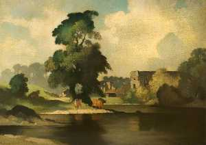 Bertram Nicholls - Easby Abbey, Richmond, North Yorkshire