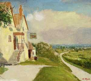 Kate Allen Tryon - The -Plough Inn-, Chiseldon, Wiltshire