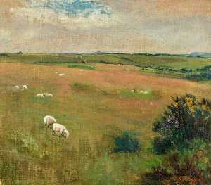 Kate Allen Tryon - Wiltshire Downs, Martinsell