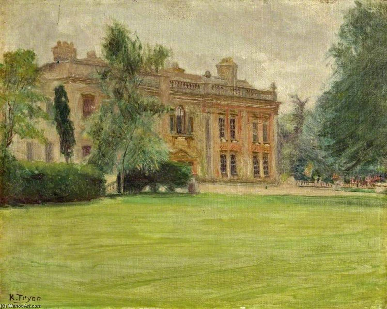 Order Paintings Reproductions | The Lawn, 1911 by Kate Allen Tryon | WahooArt.com