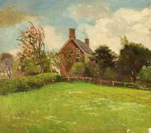 Kate Allen Tryon - Coate Farm, Swindon, Wiltshire in Maytime
