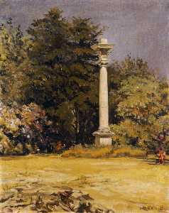 Joseph William Topham Vinall - Doric Column (in grounds)