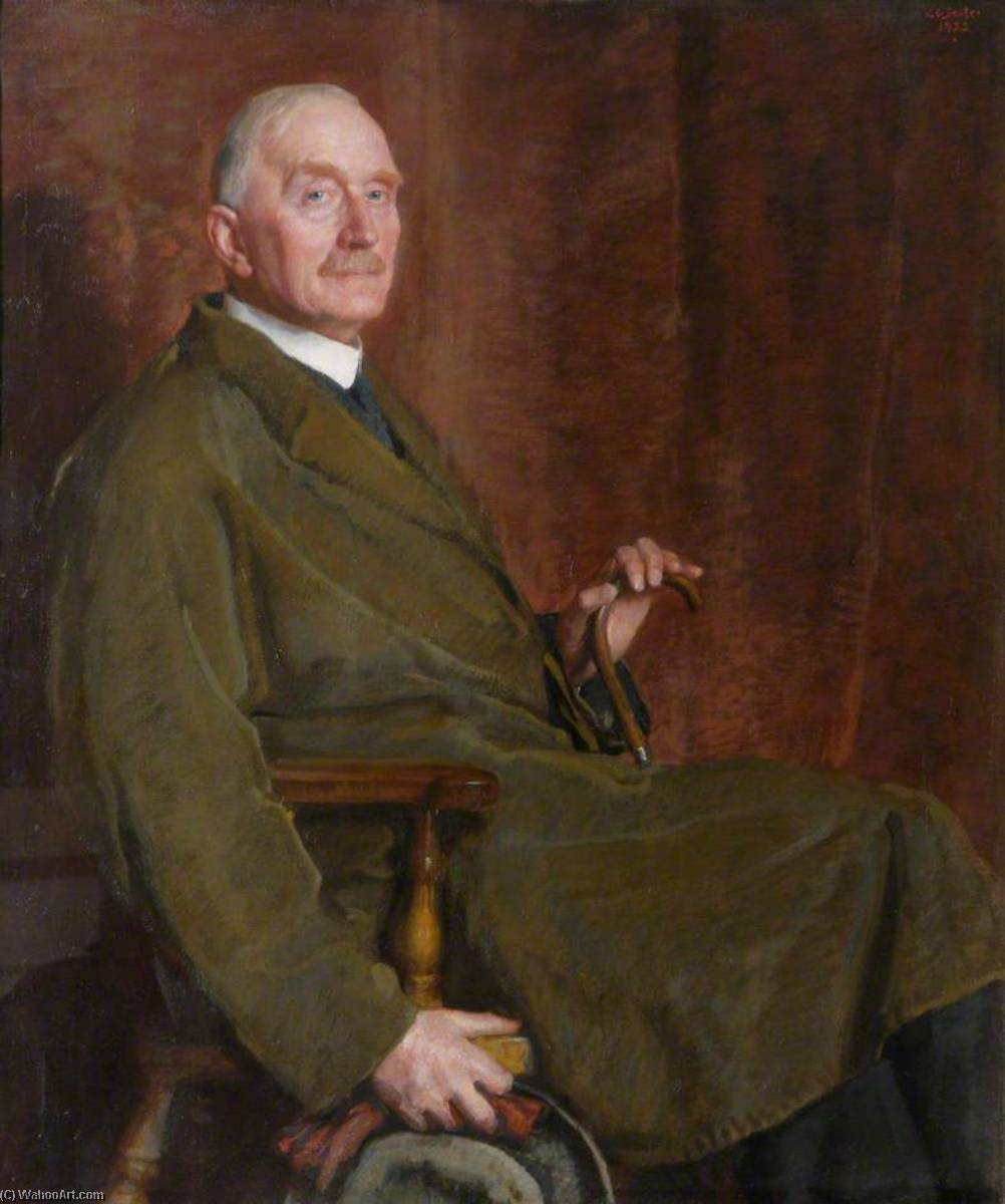 George Smith (1856–1942), 1922 by John Bulloch Souter | Museum Quality Reproductions | WahooArt.com