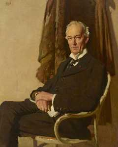 John Bulloch Souter - The Right Honourable George Allardice (1865–1934), Baron Riddell of Walton Heath, Honorary Fellow of the Royal College of Obstetricians and Gynaecologists and Benefactor
