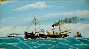 Ernest George Tench - 'Herring Fisher' LT45