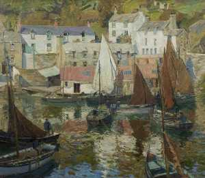 John Anthony Park - The Harbour, Polperro, Cornwall