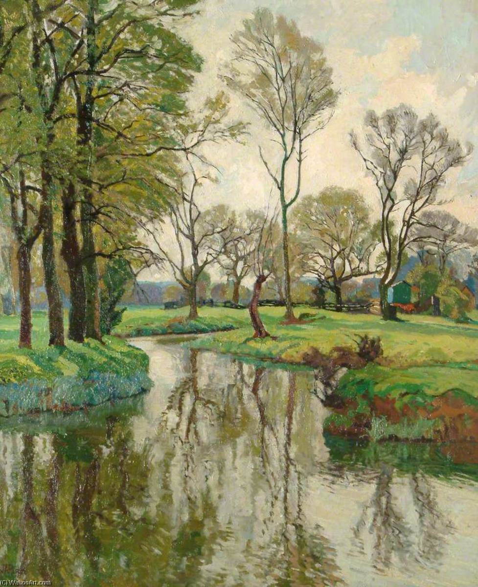 Spring on the Stour by John Anthony Park | Museum Quality Reproductions | WahooArt.com