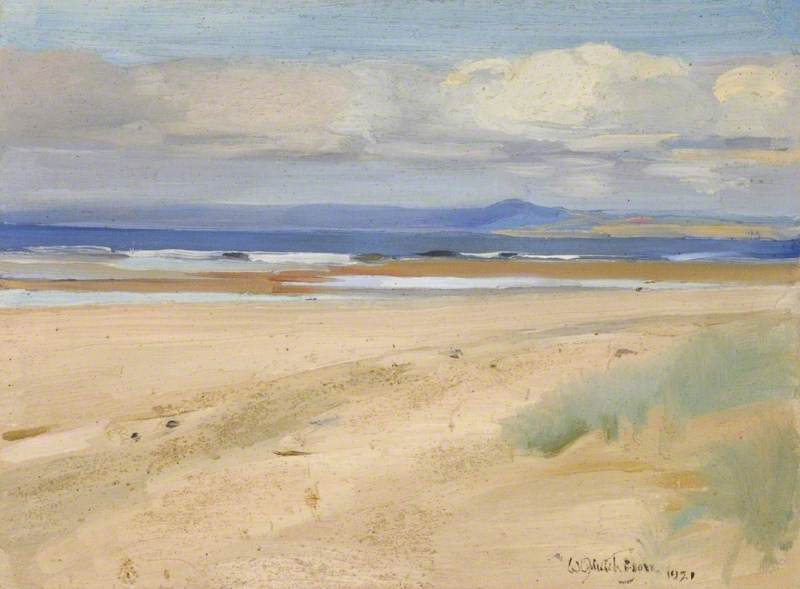 The Hills of Fife, 1921 by William Oliphant Hutchison | Painting Copy | WahooArt.com