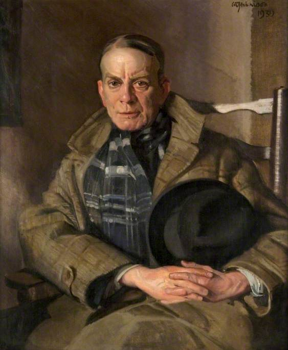 Hugh Munro (1870–1916), 1939 by William Oliphant Hutchison | Painting Copy | WahooArt.com