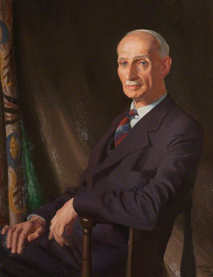 Sir Alexander Macgregor (1881–1965), Oil On Canvas by William Oliphant Hutchison