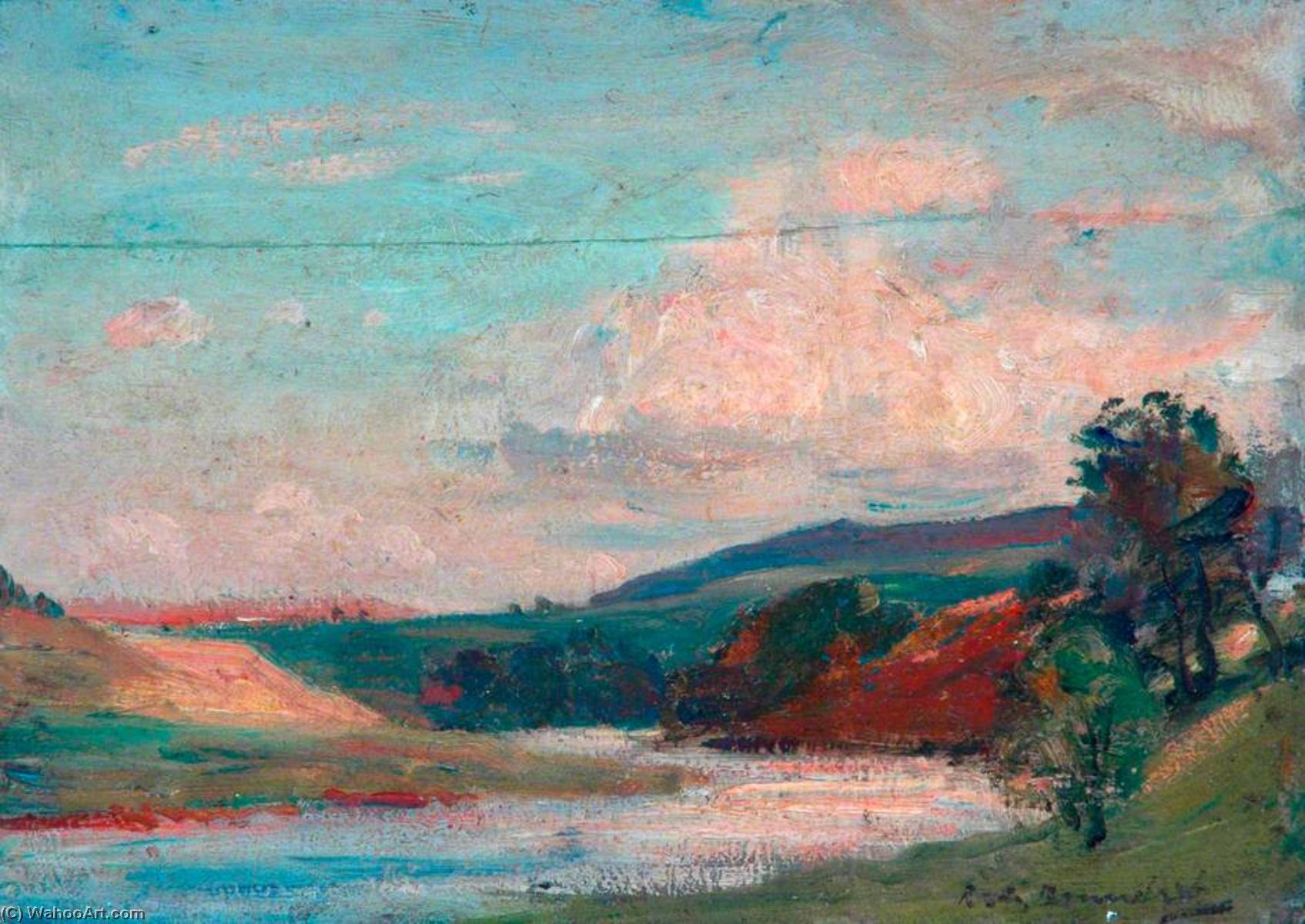 Landscape by Reginald Grange Brundrit | WahooArt.com