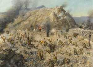 Terence Tenison Cuneo - The Battle for Monte Cassino, Italy, 1944