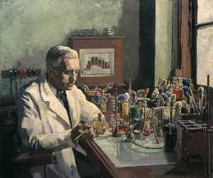 Ethel Leontine Gabain - Sir Alexander Fleming (1881–1955), FRS, the Discoverer of Penicillin