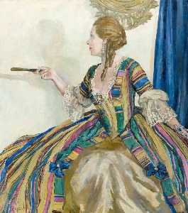 Ethel Leontine Gabain - Miss Edith Evans in a Restoration Comedy