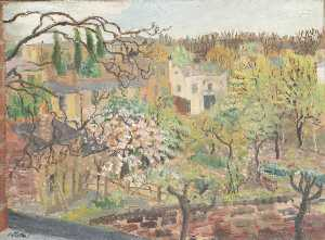 Enslin Du Plessis - Spring in Hampstead