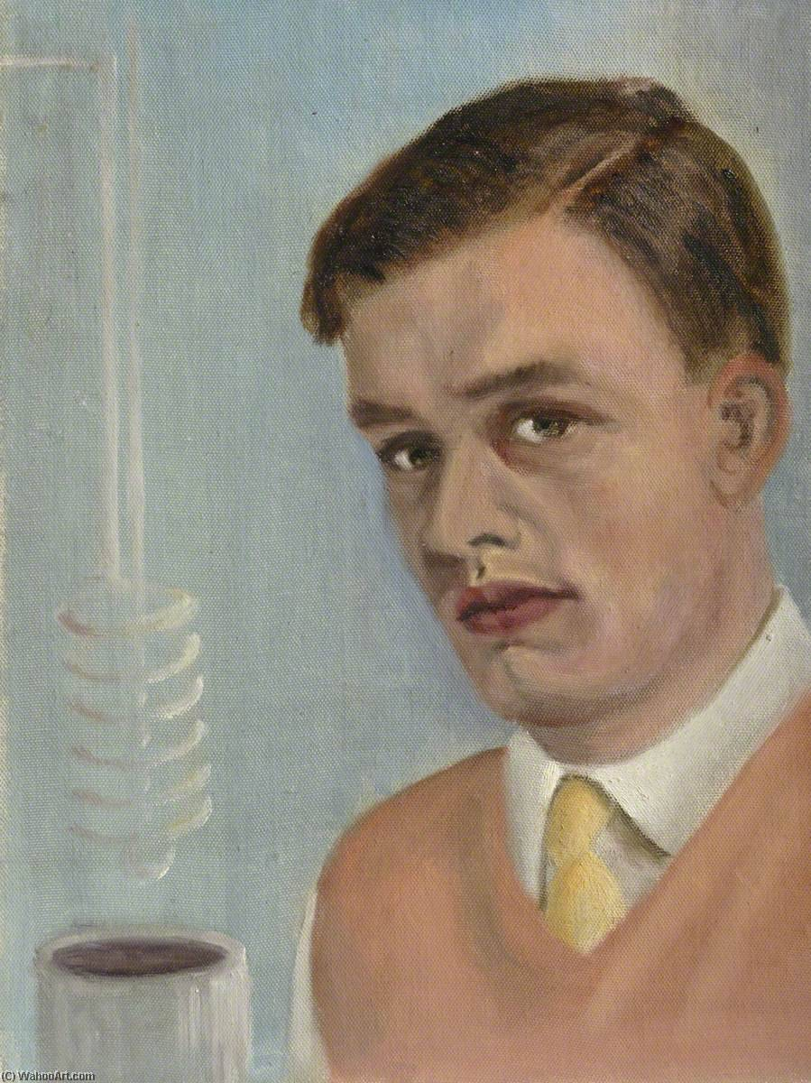 Michael Seakins, Oil by Cyril Norman Hinshelwood (1897-1967, United Kingdom)