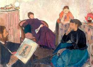 Geoffrey Arthur Tibble - The Discussion