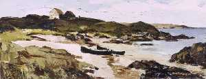 Donald Mcintyre - Two Boats, Mannin Bay