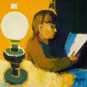 Donald Mcintyre - Reading by Lamplight