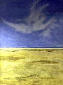 Clement Mcaleer - Beach (polyptych, panel 4 of 6)