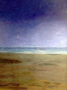 Clement Mcaleer - Beach (polyptych, panel 2 of 6)