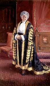 Andrew Festing - The Right Honourable Betty Boothroyd, Speaker