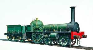 Henry Maurice Whitcombe - York, Newcastle and Berwick Railway Great A 4–2–0 Locomotive