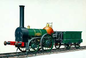 Henry Maurice Whitcombe - London and Birmingham Railway 2–2–0 Locomotive No.1