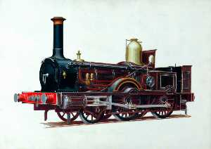 Henry Maurice Whitcombe - London and South Western Railway 2–4–0 Well Tank Locomotive