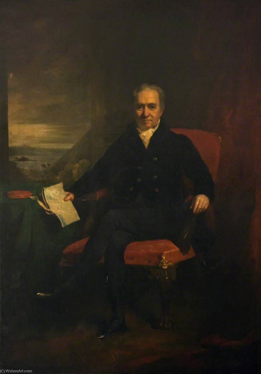 The Right Honourable William Adam, 1828 by Colvin Smith | Museum Quality Copies Colvin Smith | WahooArt.com