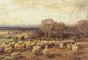 Owen Bowen - A Sheepfold
