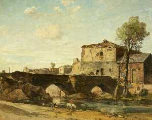 Oliver Hall - Old Mill at Ávila, Spain