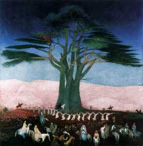 Tivadar Kosztka Csontváry - Pilgrimage to the Cedars in Lebanon