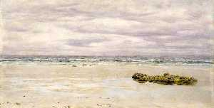 John Edward Brett - Kennack Sands, Cornwall, at Low Tide