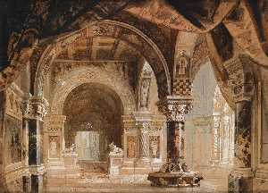 Georg Janny - Interior of the Doge-s Palace