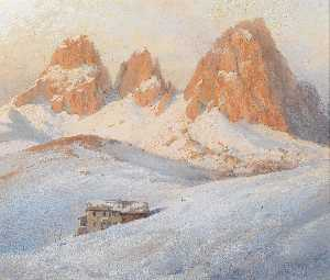 Georg Janny - In the Dolomites