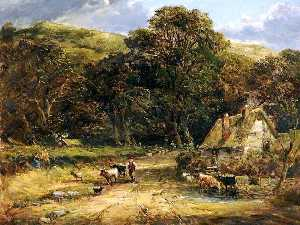 David Cox The Elder - Landscape